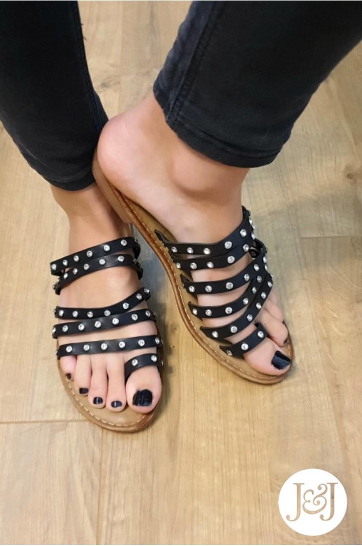 "Nu-pieds clous ""Romy"""