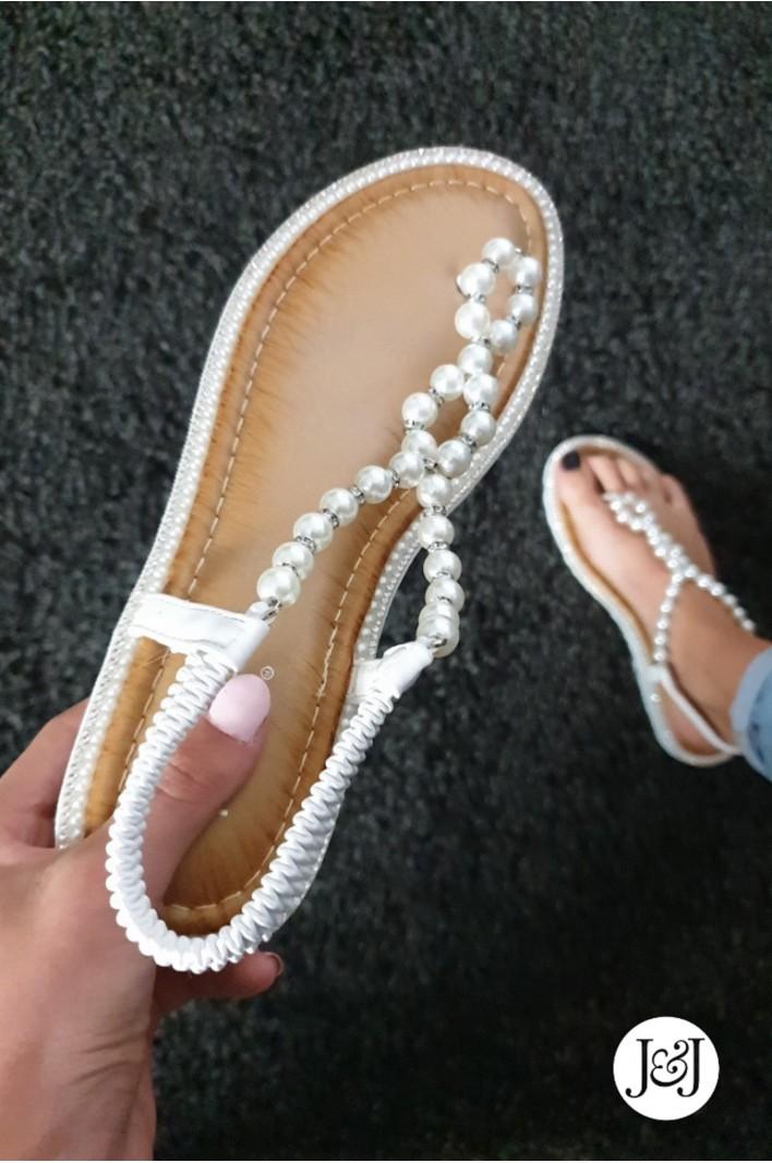 """Nu-pieds perles """"Elsy"""""""