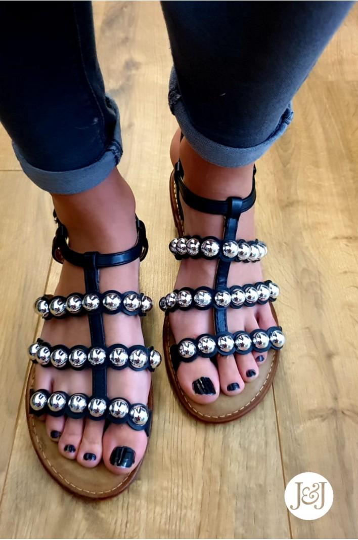 """Nu-pieds boules """"Calia"""""""