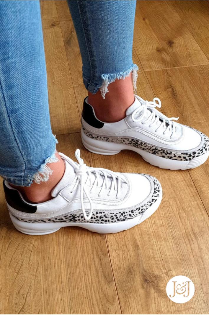"""Sneakers léopard """"Lana"""""""