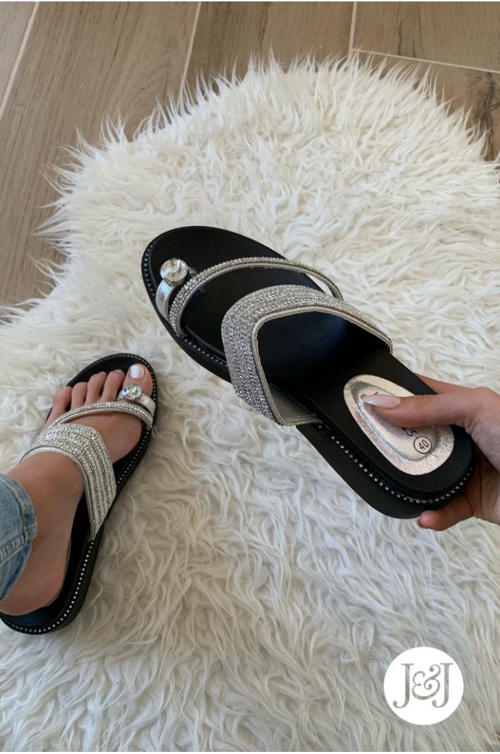 """Nu-pieds Bijoux """"Assia"""""""