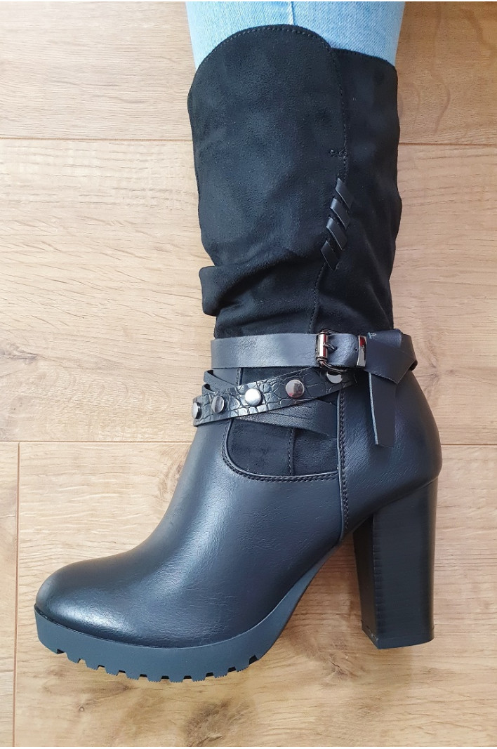 Bottines hautes shana