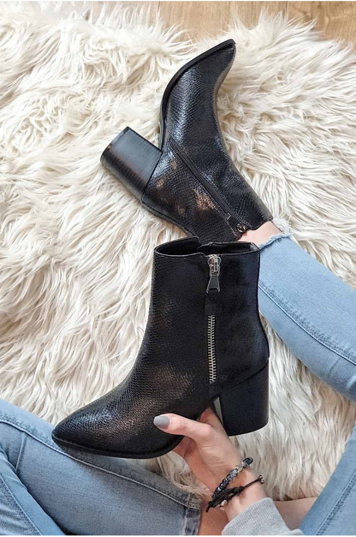 Bottines noires Betty