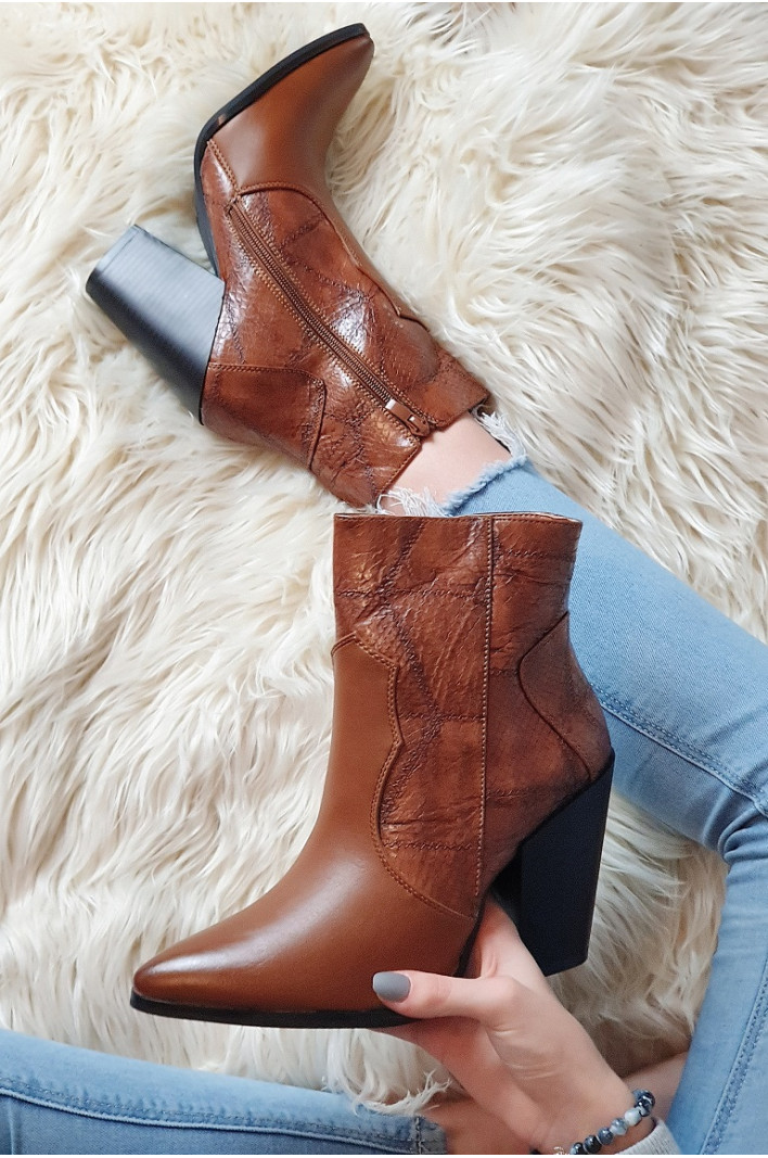 Bottines Marron Madelaine