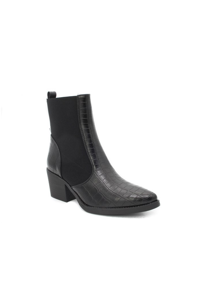 Bottines croco Jenna