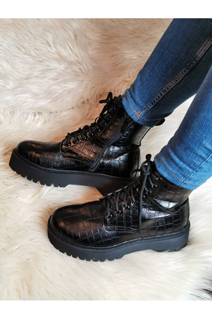 Bottines Rangers Croco Love
