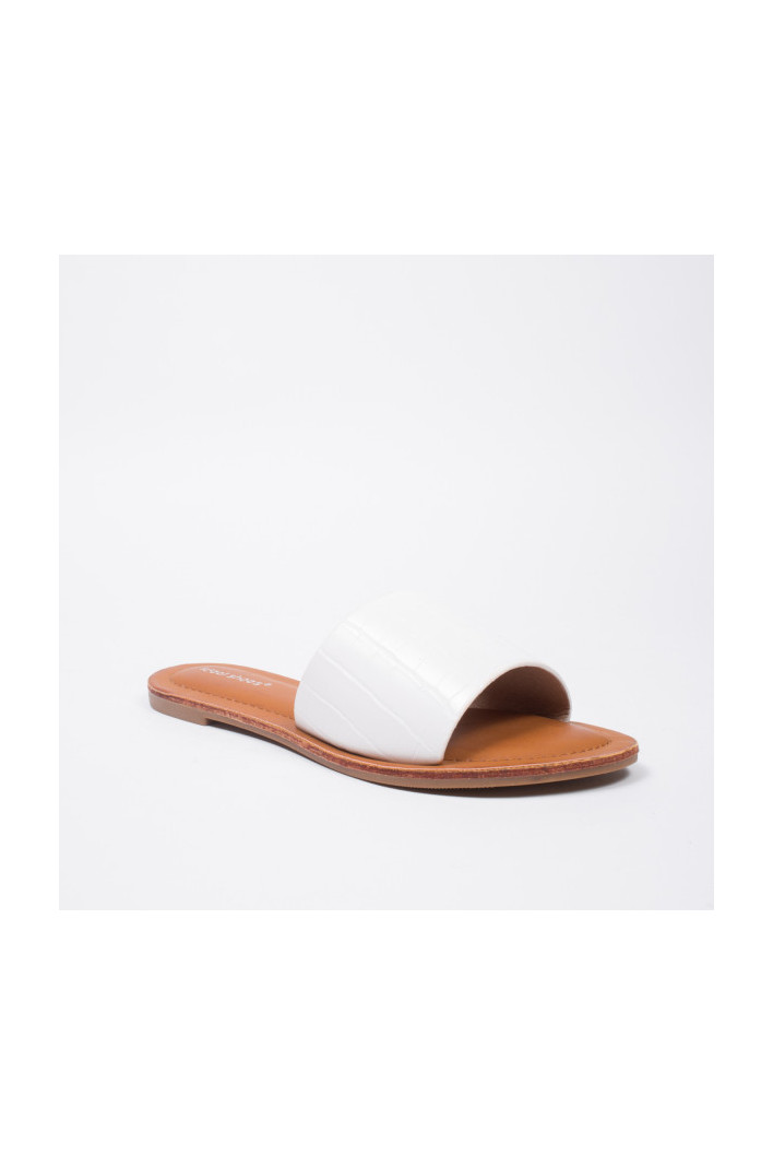 Nu-pieds Ines Blanches