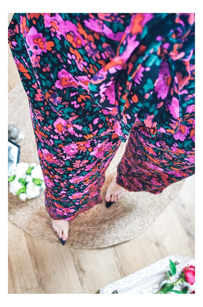 Pantalon ample fleuri Montréal