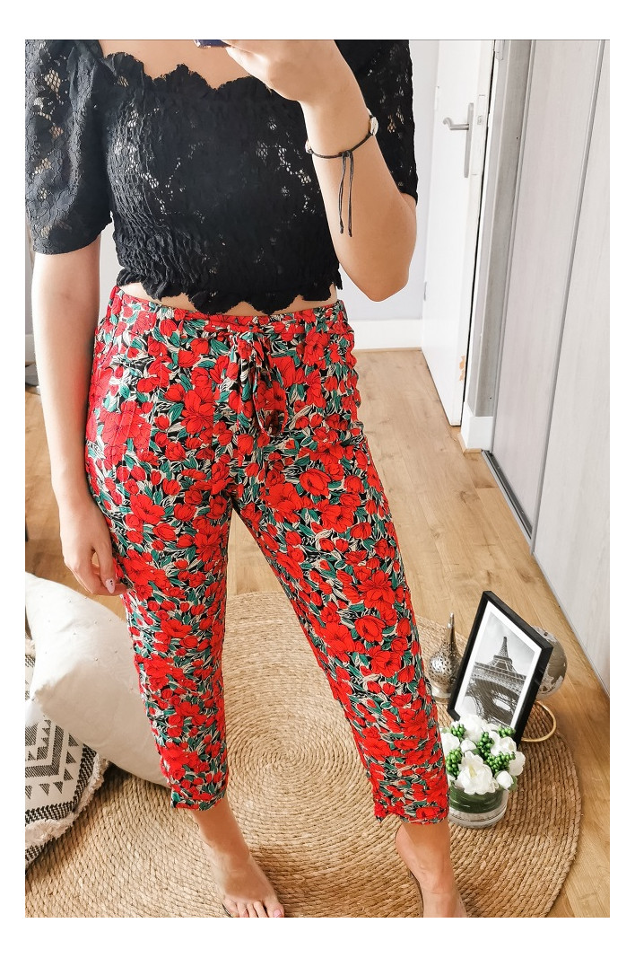 Pantalon rouge Toulouse