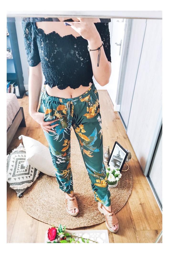 Pantalon vert Chicago