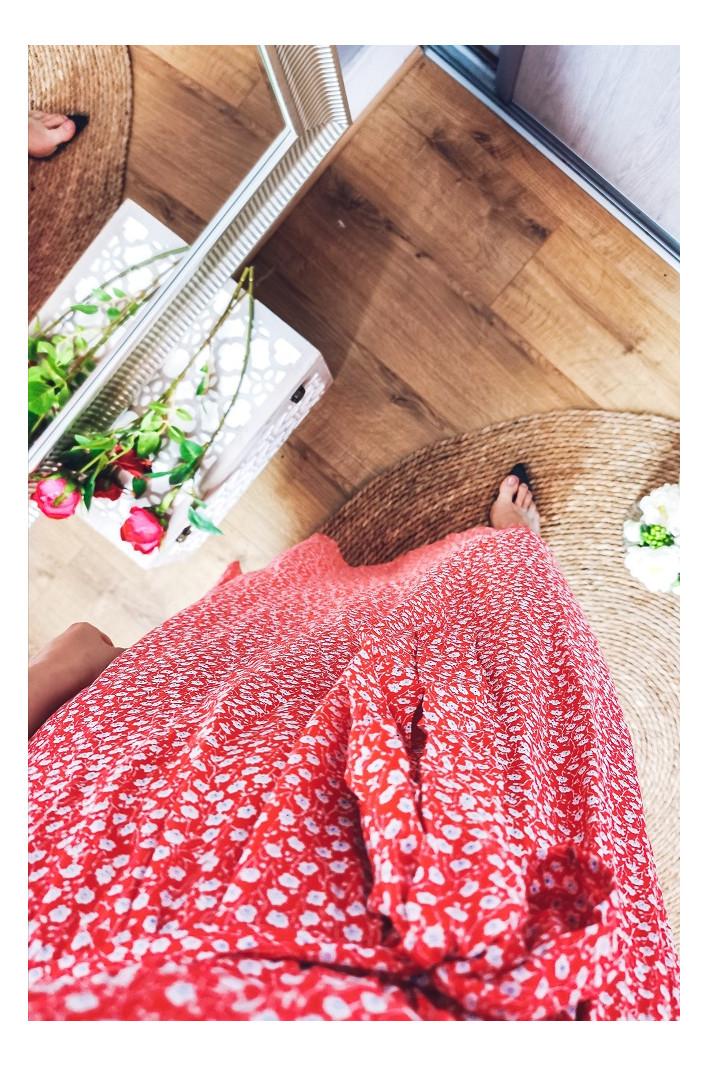 Robe rouge Hanoï