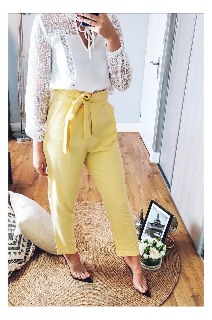 Pantalon jaune Istanbul