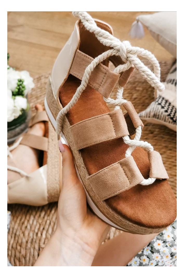 Sandales compensées Gail