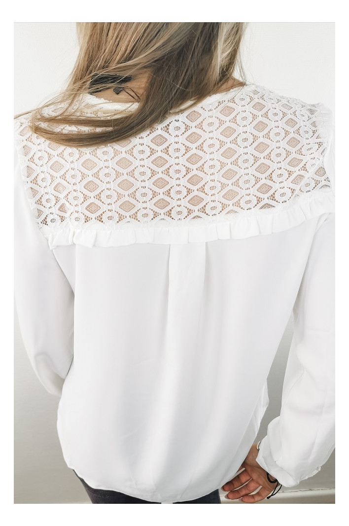 Blouse Blanche Moscou