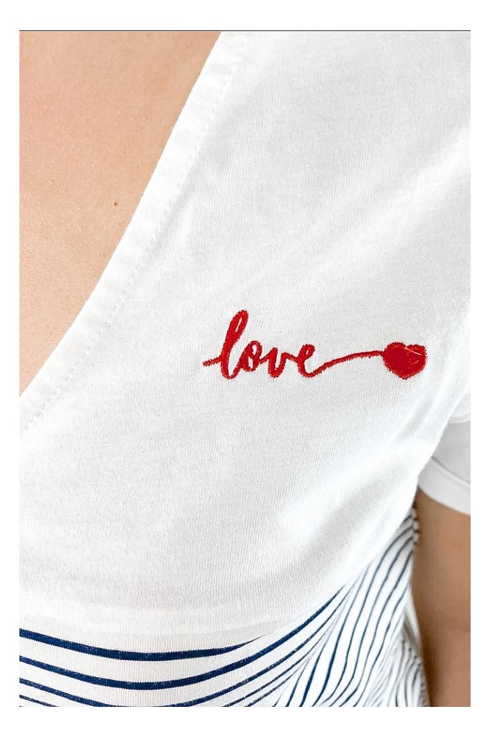 Marinière Love Paris
