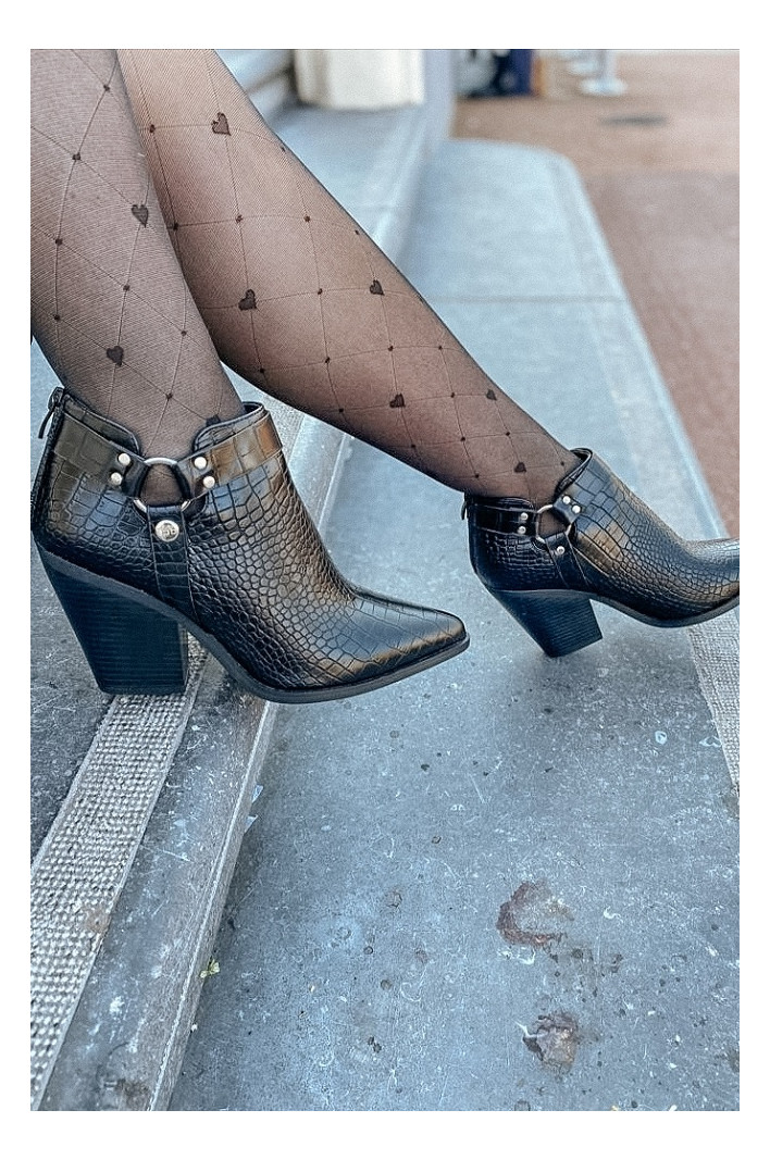 Bottines Andreia Noires...