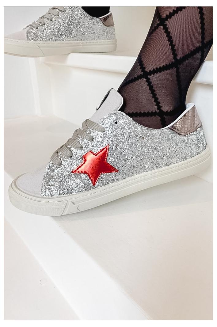 Sneakers Silver Oceane