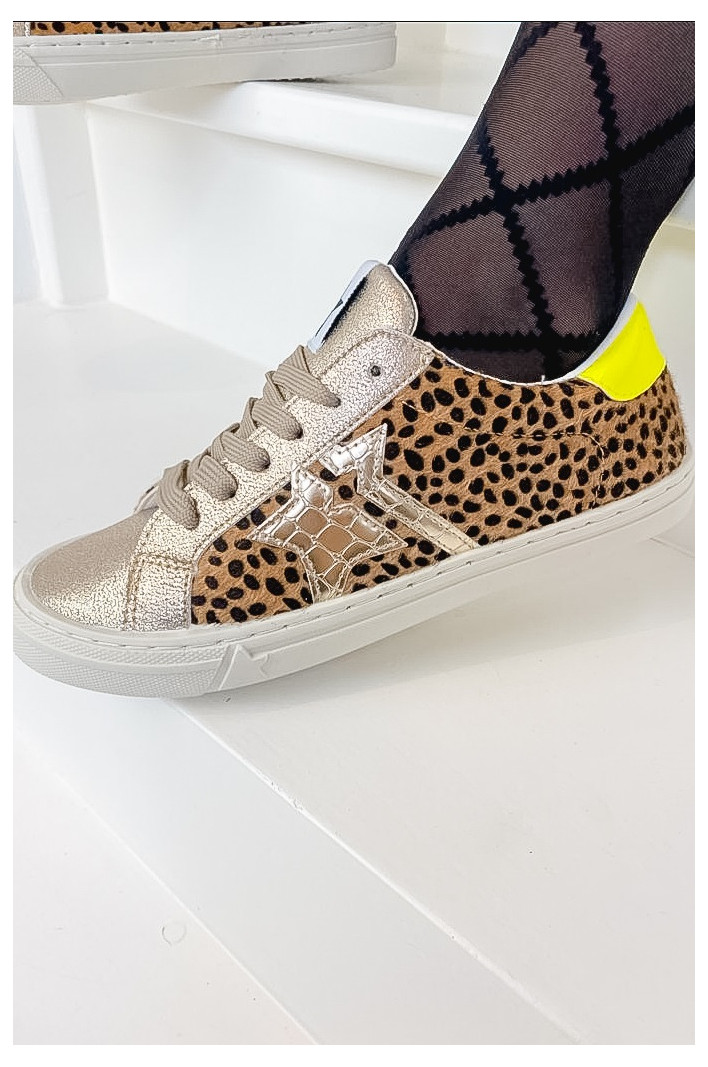 Sneakers Gold Olivia