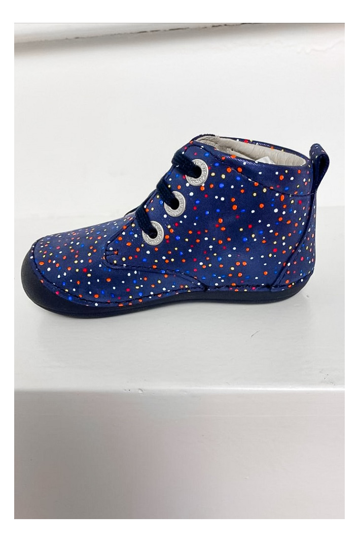 Bottines Soniza Marine Pois Multicolore - Kickers