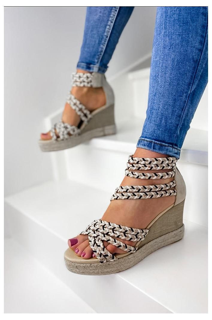 Sandales compensées Figueras - MKD
