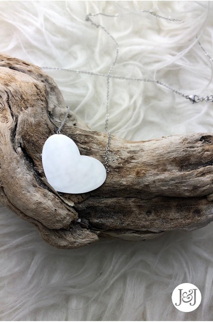 sautoir pendentif cœur...